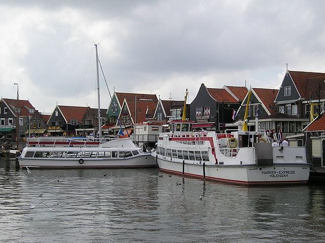 Viaje en ferry entre Volendam y Marken