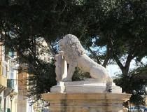 Fuente del León en Floriana
