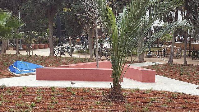 Monumento Memorial Gay en Tel Aviv