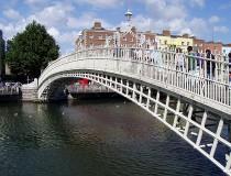Puente Ha´Penny en Dublín