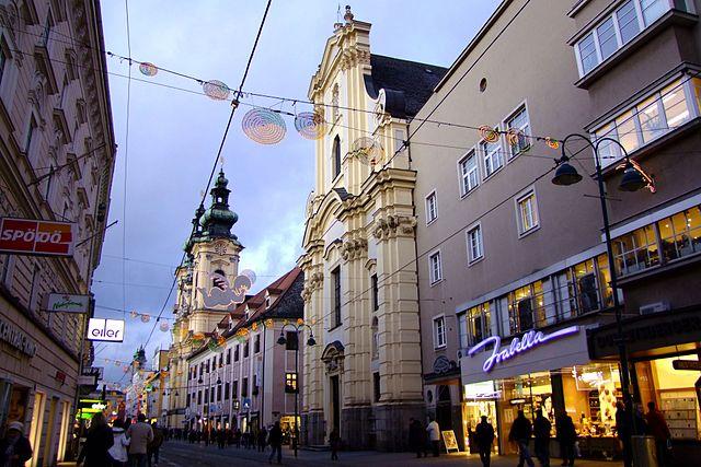 Iglesia de las Carmelitas en Linz