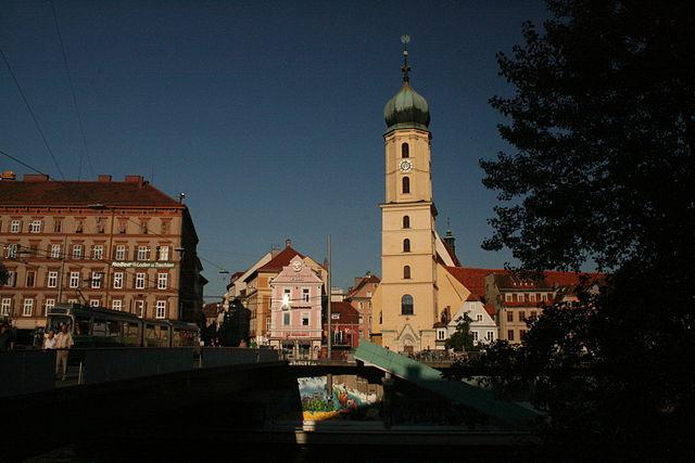 Iglesia Franciscana de Graz