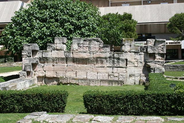 Jardín de los Vestigios de Marsella