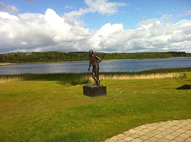 Lago Erne en Irlanda del Norte