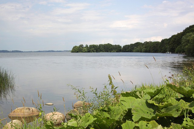 Lago Esrum en Dinamarca