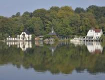 Lago de Genval en Bélgica