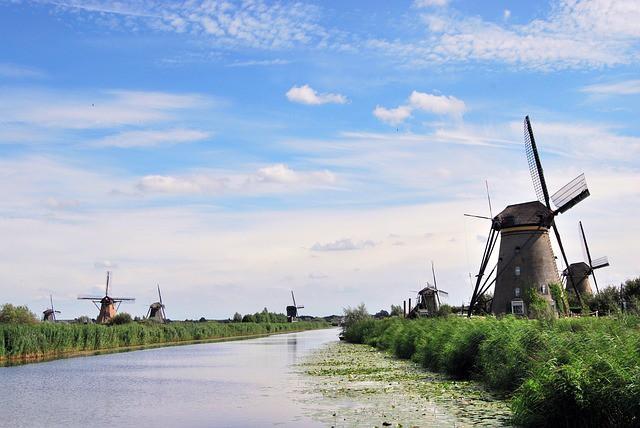 Museo de los Molinos de Kinderdijk