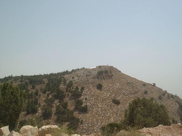 Monte del Precipicio en Israel