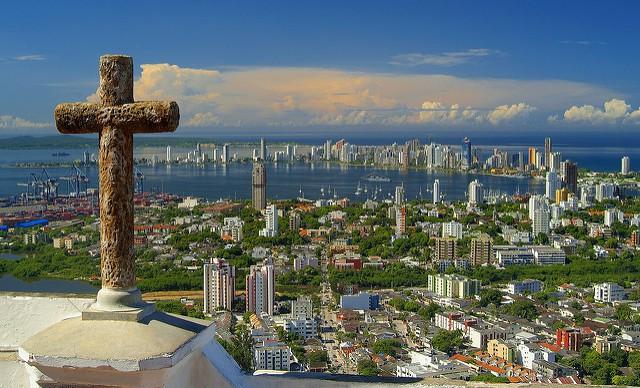 Monumento a los Alcatraces en Cartagena de Indias