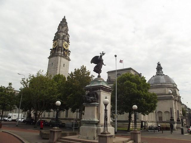Memorial de la Guerra de Sudáfrica en Cardiff