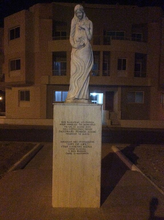 Monumento Pro-Vida en Mosta