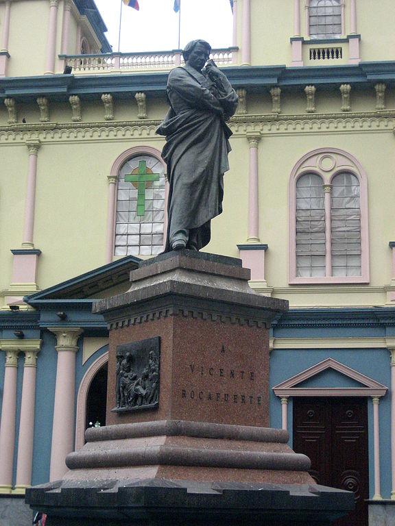 Monumento a Vicente Rocafuerte en Guayaquil
