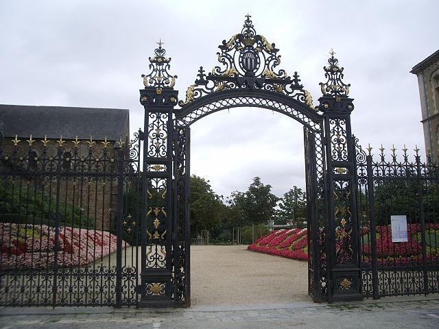 Parque de Thabor en Rennes