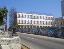 Paseo del Prado en La Habana