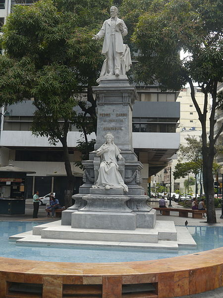 Monumento a Pedro Carbo en Guayaquil