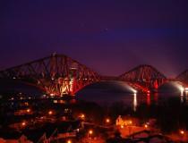 Puente Forth en Edimburgo