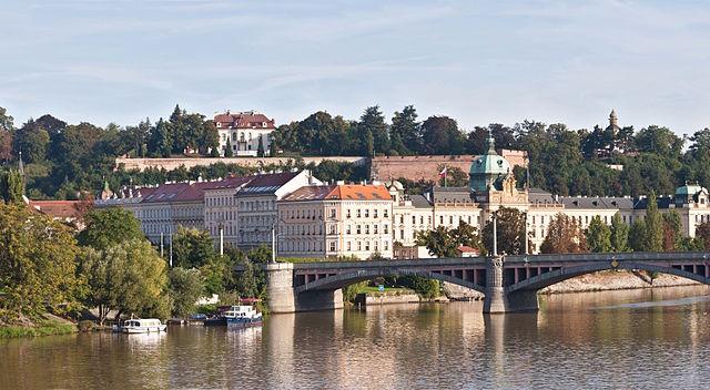 Puente Mánes en Praga