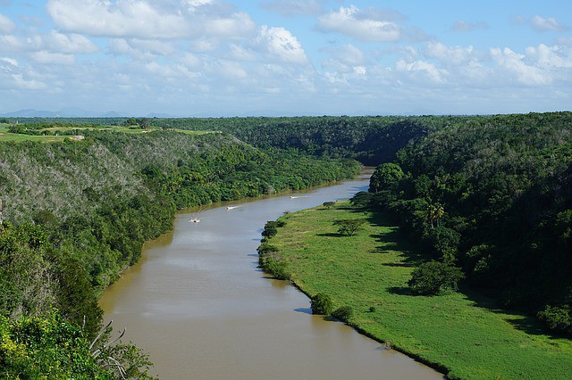 Río Chavón en República Dominicana