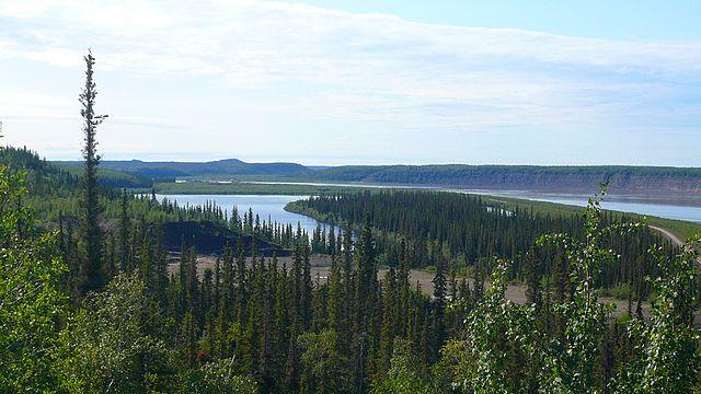 Río Mackenzie en Canadá