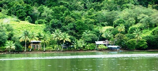 Río Sierpe en Costa Rica