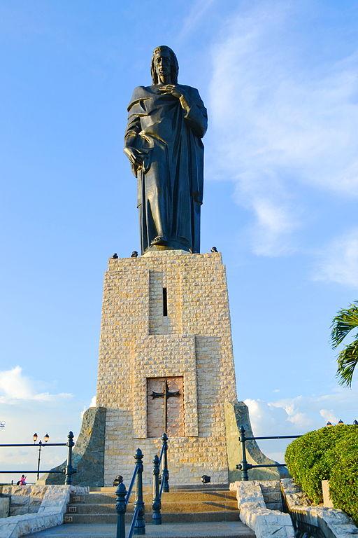 Monumento al Sagrado Corazón en Guayaquil