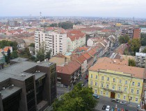 Plaza de los Mártires de Arad en Szeged