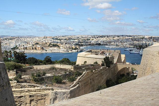Monumento a Spencer en Malta