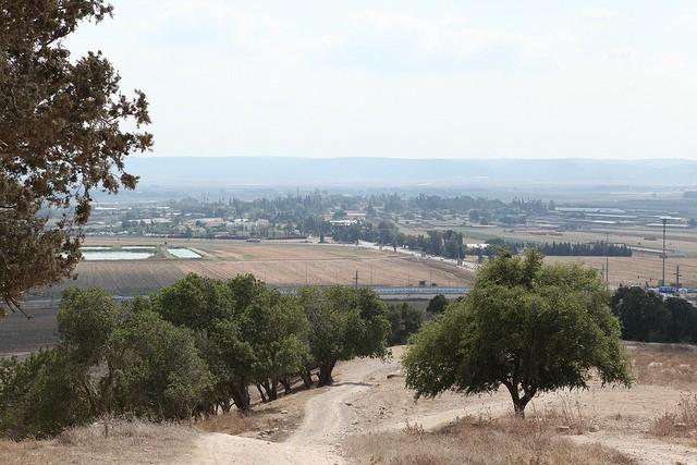 Valle de Jezreel en Israel