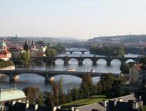Río Vltava en República Checa