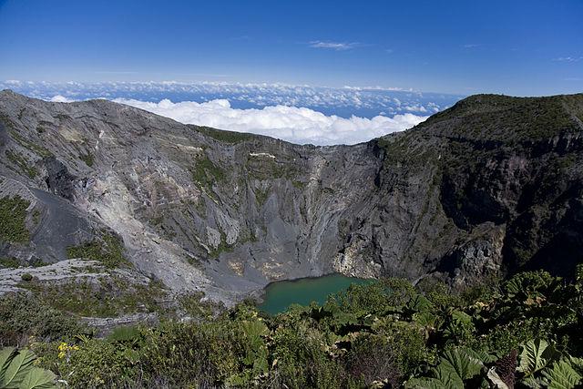 Río Chirripó Norte en Costa Rica