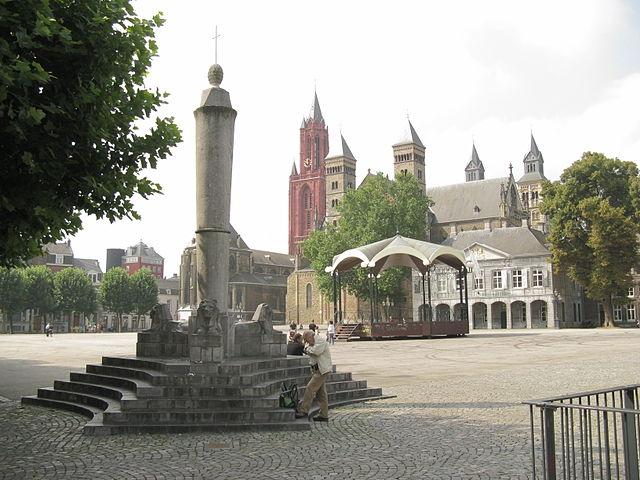 Placa Old Hictory de Vrijthof en Maastricht