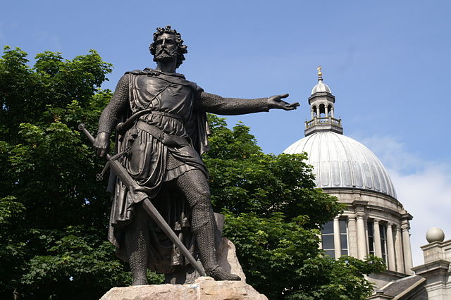 Estatua de William Wallace de Aberdeen