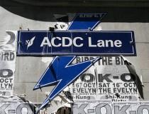 ACDC Lane, la calle más rockera de Melbourne