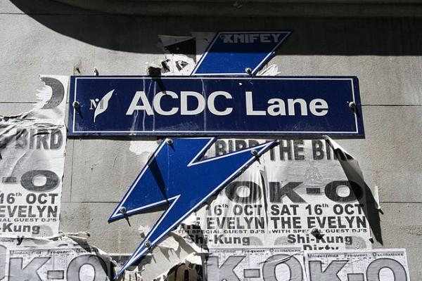 ACDC Lane es la calle que tiene esta banda en Melbourne
