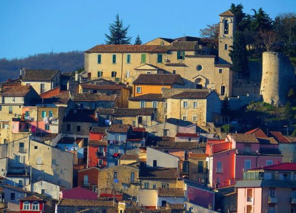 Vista de Campobasso, la capital de la región de Molise