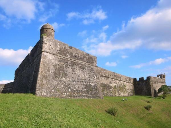 El Fuerte de San Sebastián, uno de los más lugares más conocidos de las Azores
