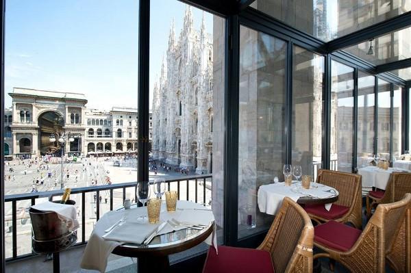 El Restaurante Giacomo Arengario es uno de los más famosos de Milán