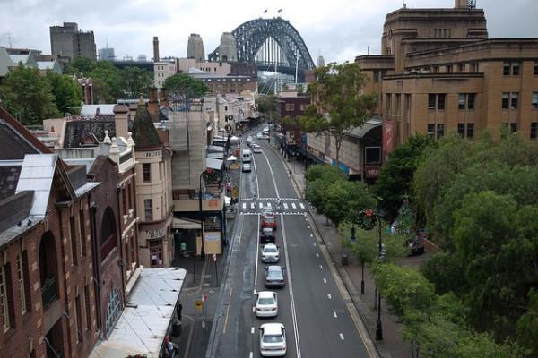 The Rocks es uno de los barrios más famosos de Sidney