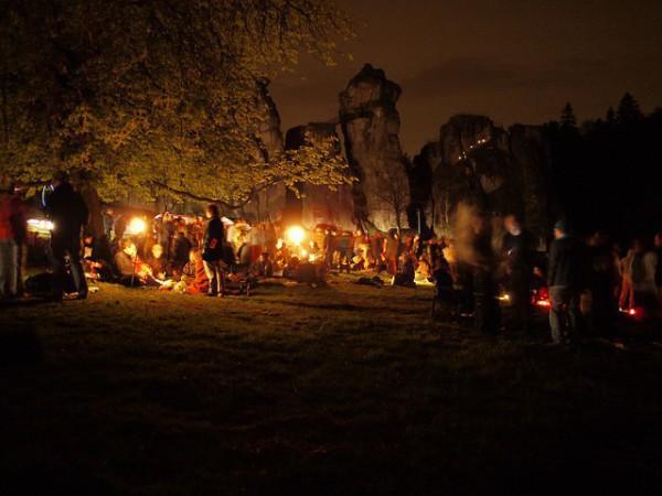 La madrugada al 1 de mayo es noche de brujas en Alemania