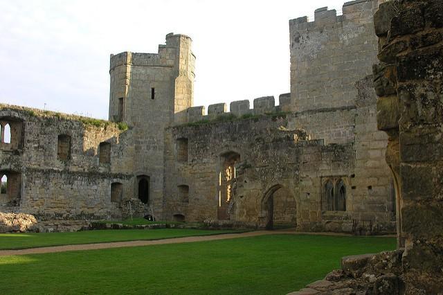 Castillo Bodiam en Reino Unido
