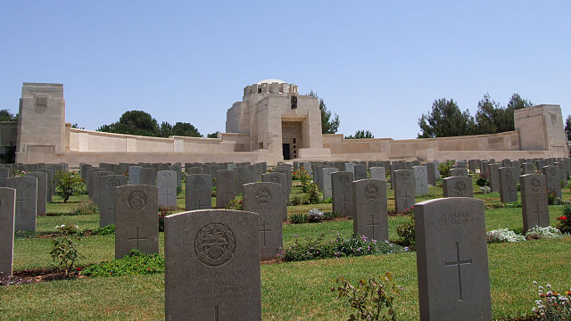 Cementerio Militar Británico de Jerusalén