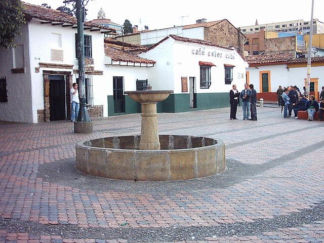 Plaza El Chorro de Quevedo en Bogotá