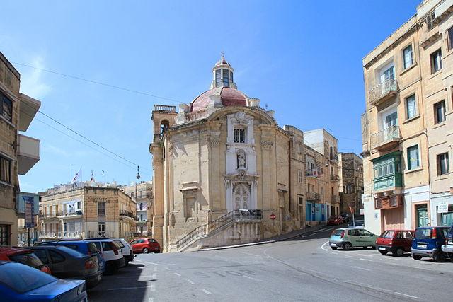 Iglesia de San Pablo en Bormla