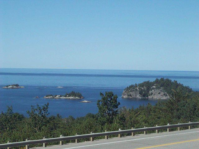 Lago Superior en Canadá