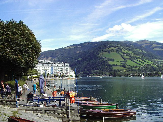 Lago Zell en Austria