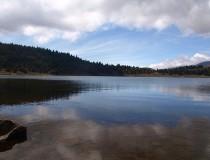 Laguna de Mucubají en Venezuela