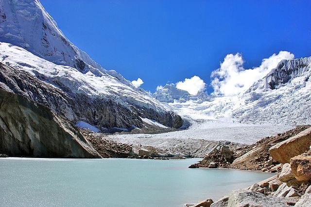 Laguna Parón en Perú
