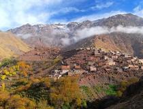 Montaña Toubkal en Marruecos