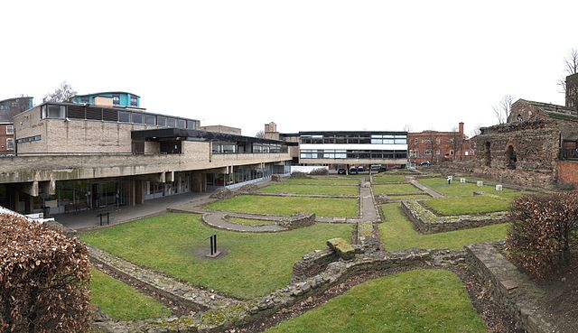 Jewry Wall Museum en Leicester