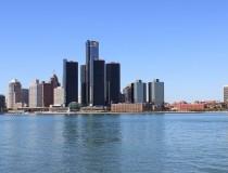 Parque del Estado Milliken Harbor en Detroit